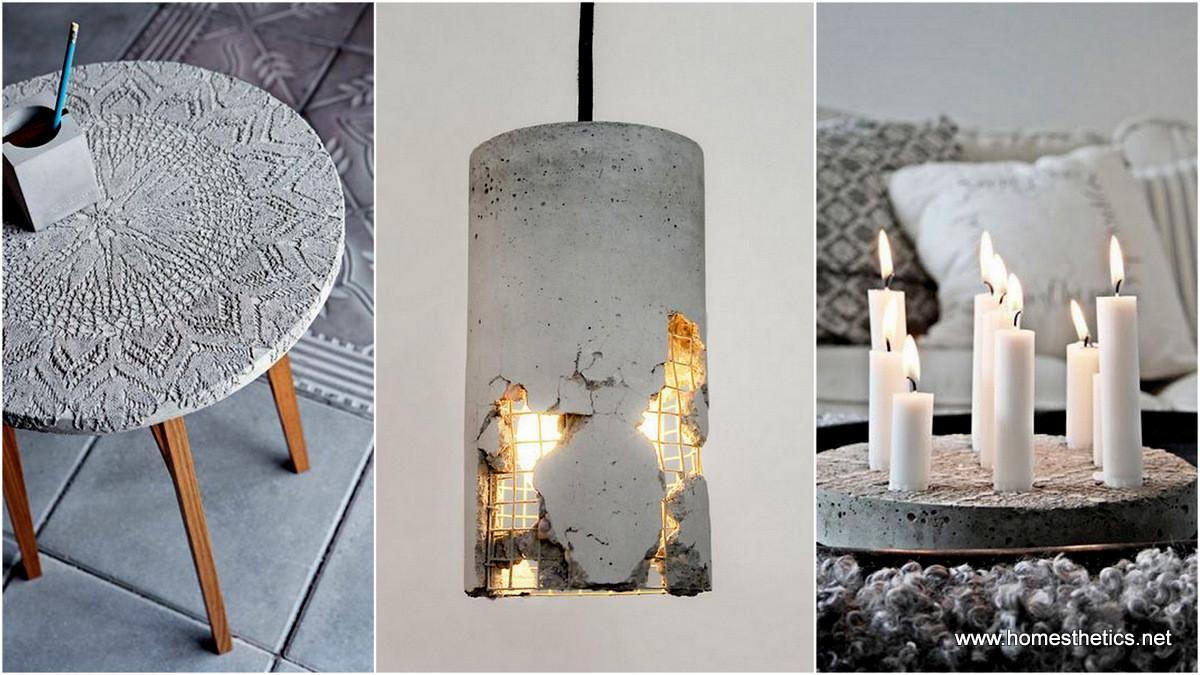 Diy Concrete Ideas Chic Minimal Design