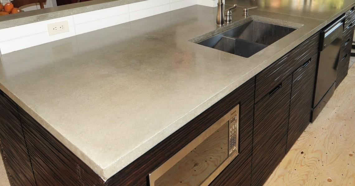38 Extremely Awesome Minimalist Diy Concrete Countertops That You