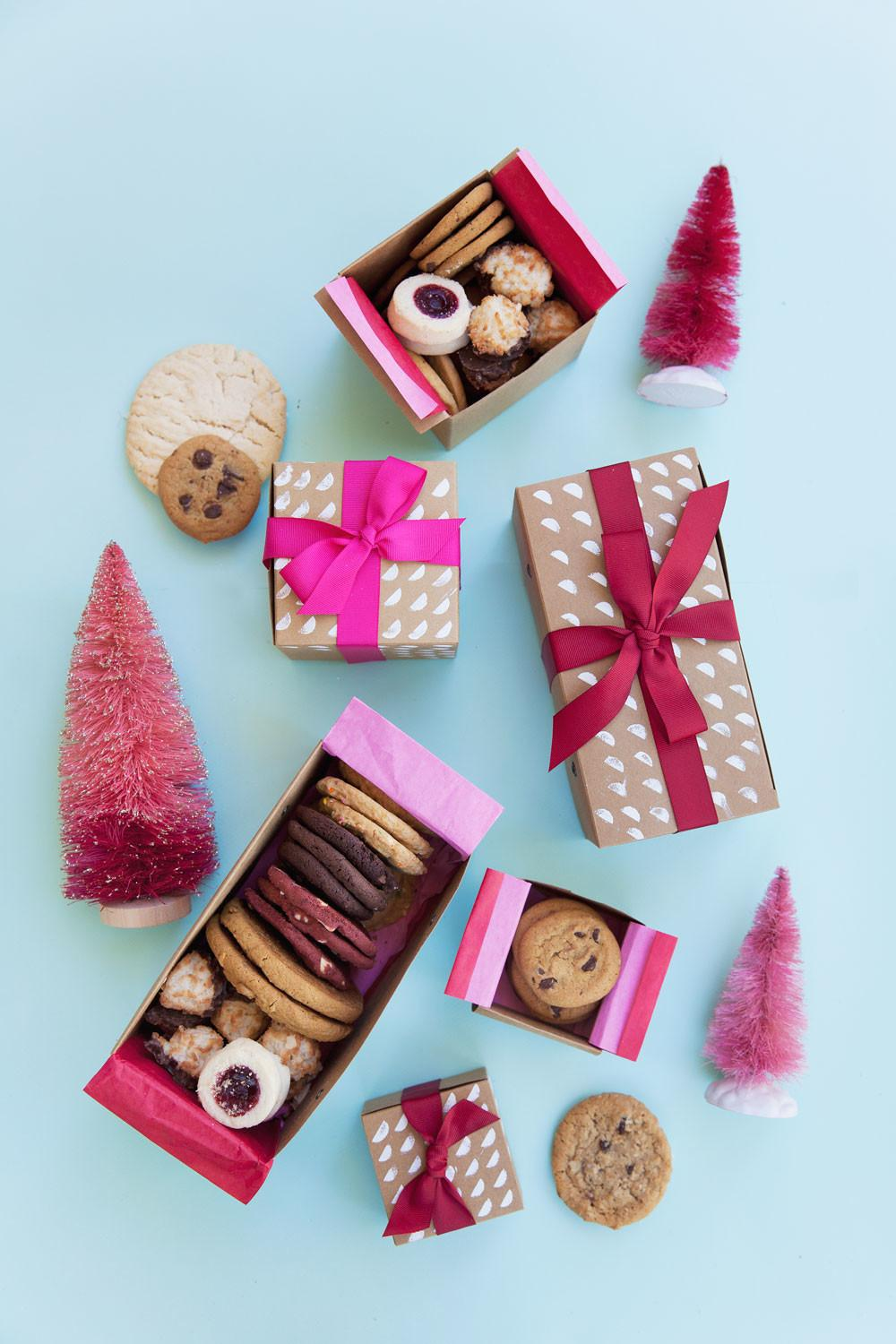 Diy Cookie Gift Boxes Tell Love Party