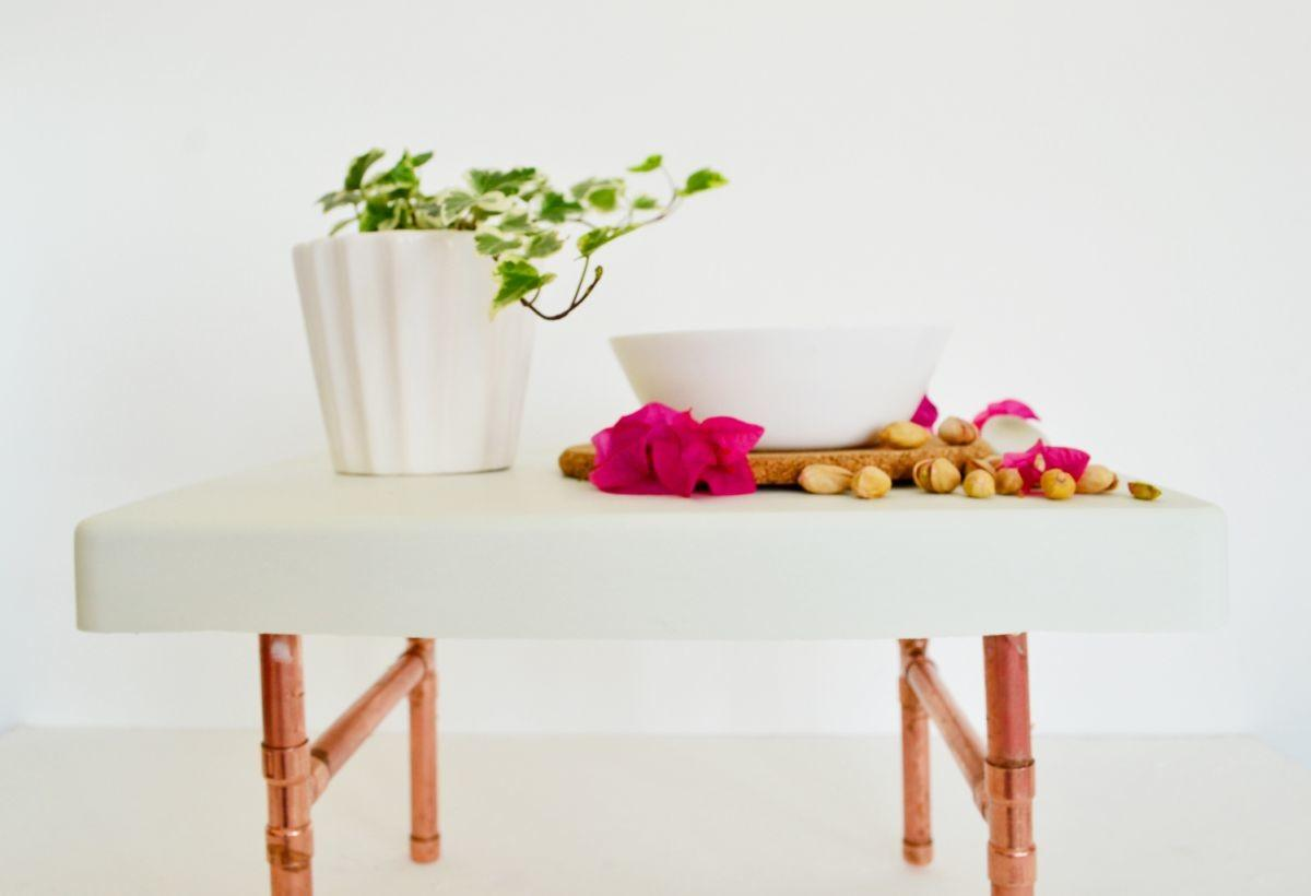 Diy Copper Pipe Breakfast Tray Stand