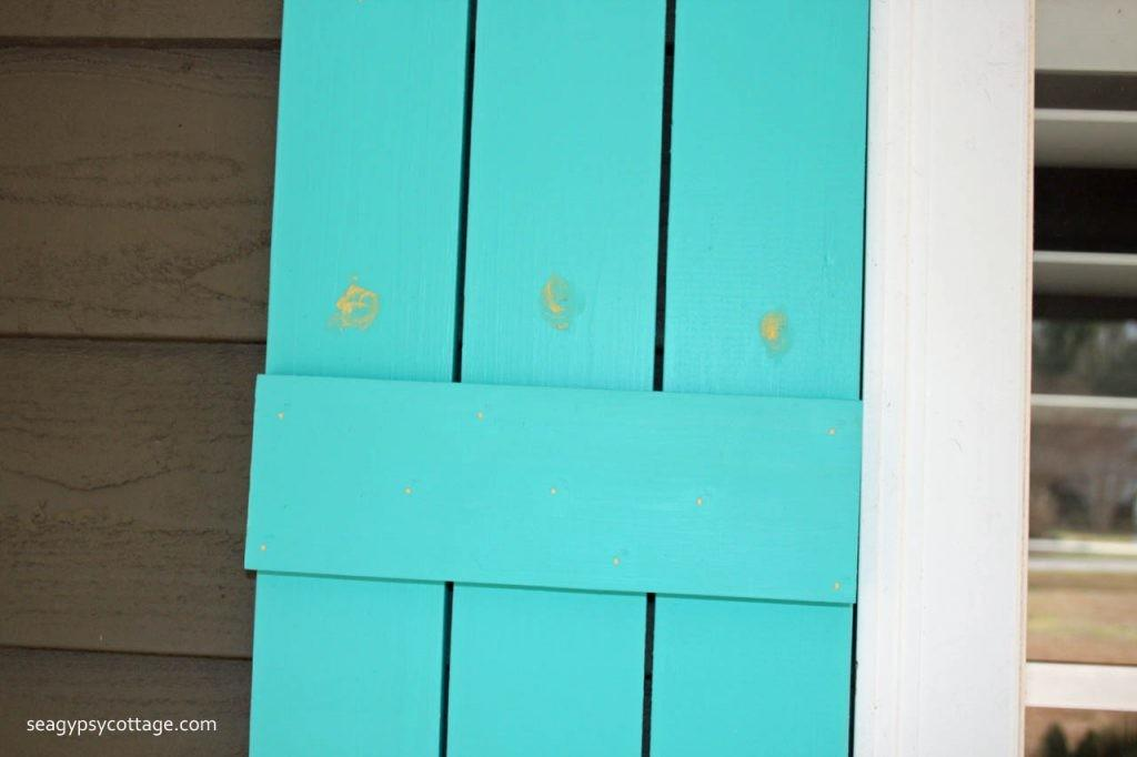 Diy Cottage Style Board Batten Shutters