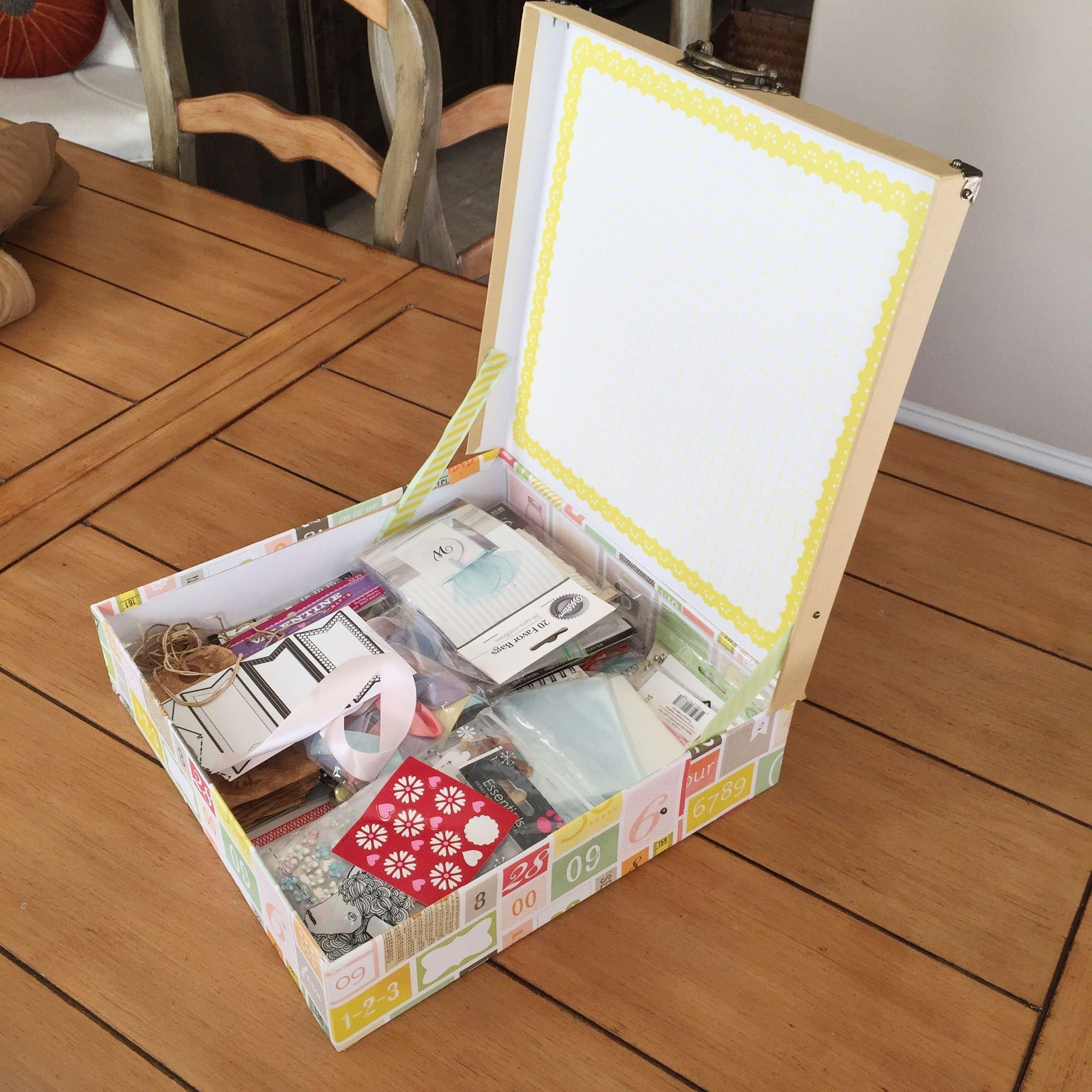 Diy Craft Storage Box Ideas Fun Projects