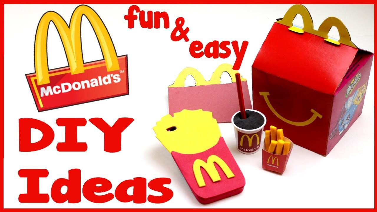 Diy Crafts Fun Mcdonald Diys School Supplies Phone