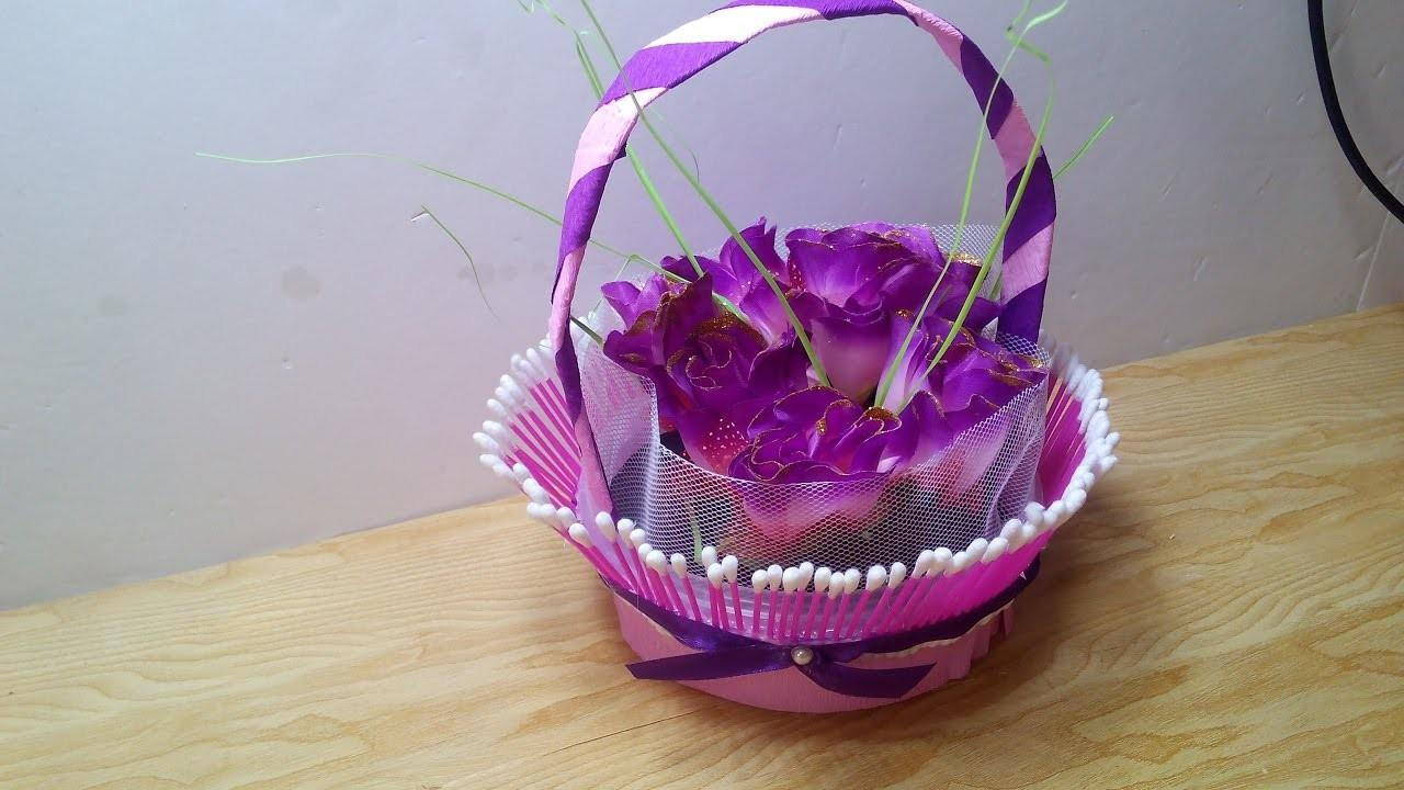Diy Crafts Make Decorative Basket Out Simple
