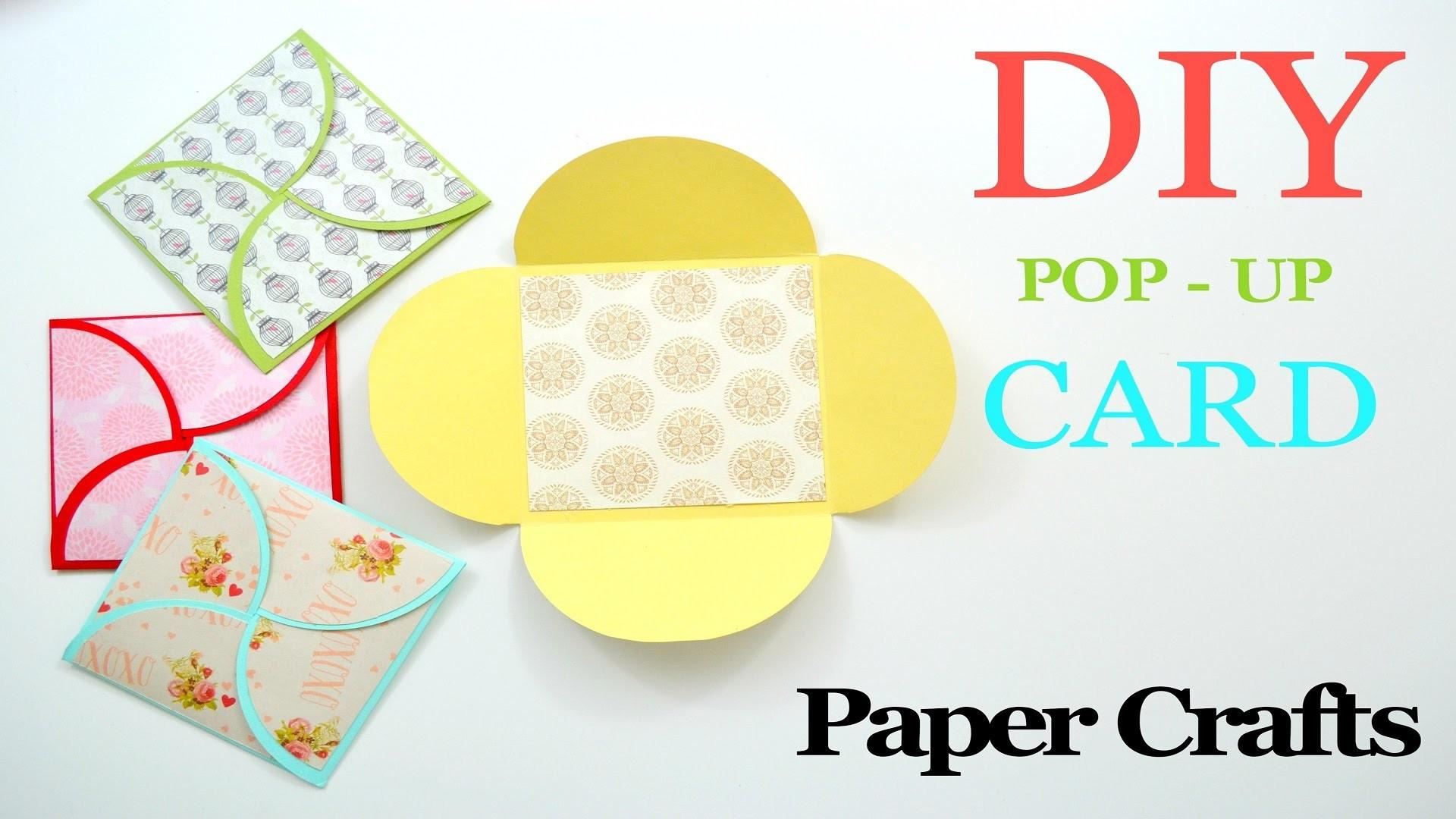 Diy Crafts Make Greeting Paper Card