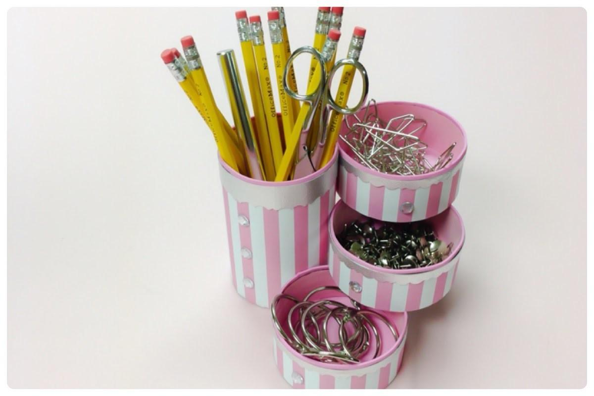 Diy Crafts Recycle Tin Cans Make Pencil Holder