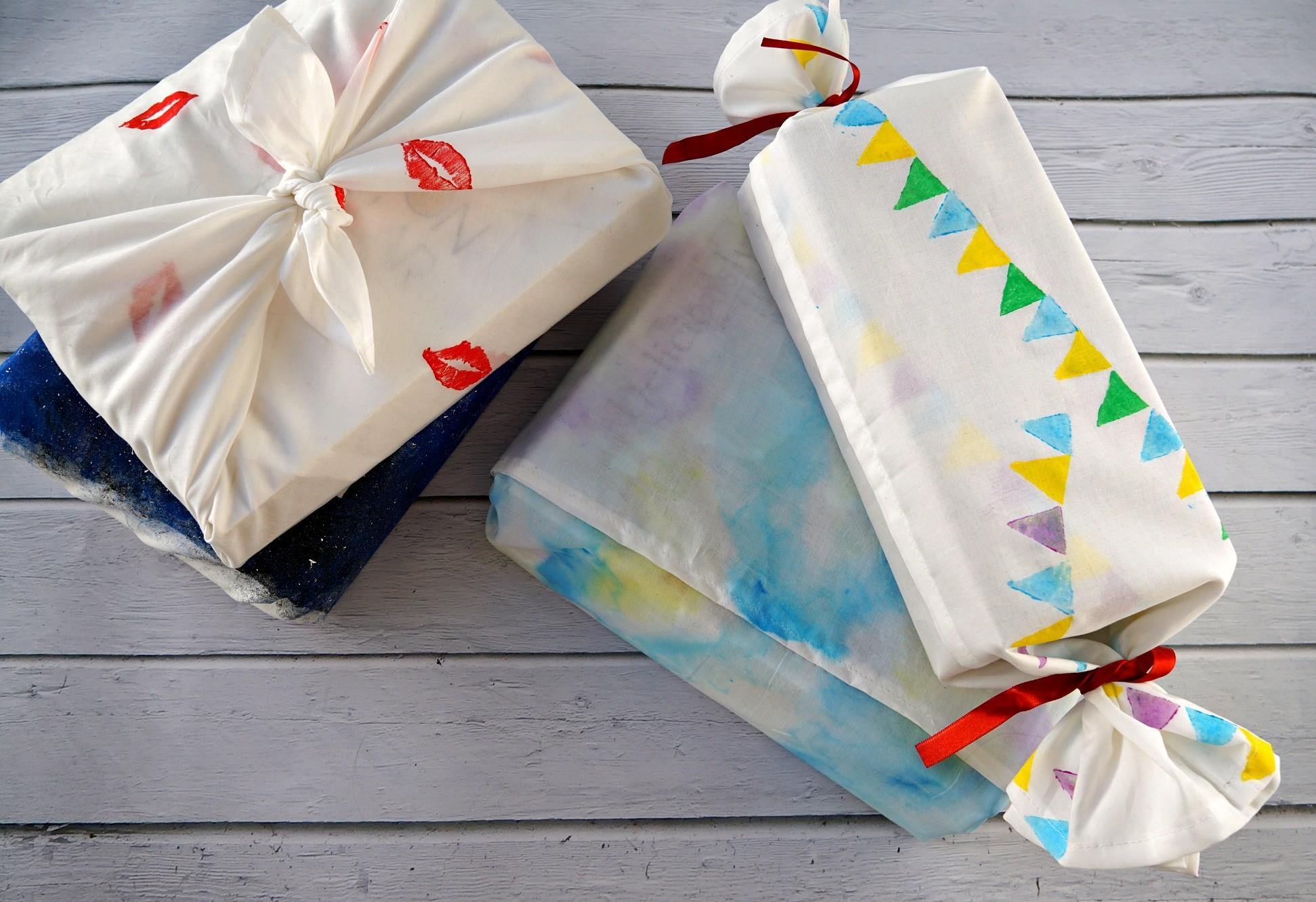 Diy Creative Fabric Gift Wrapping Makeup Dummy