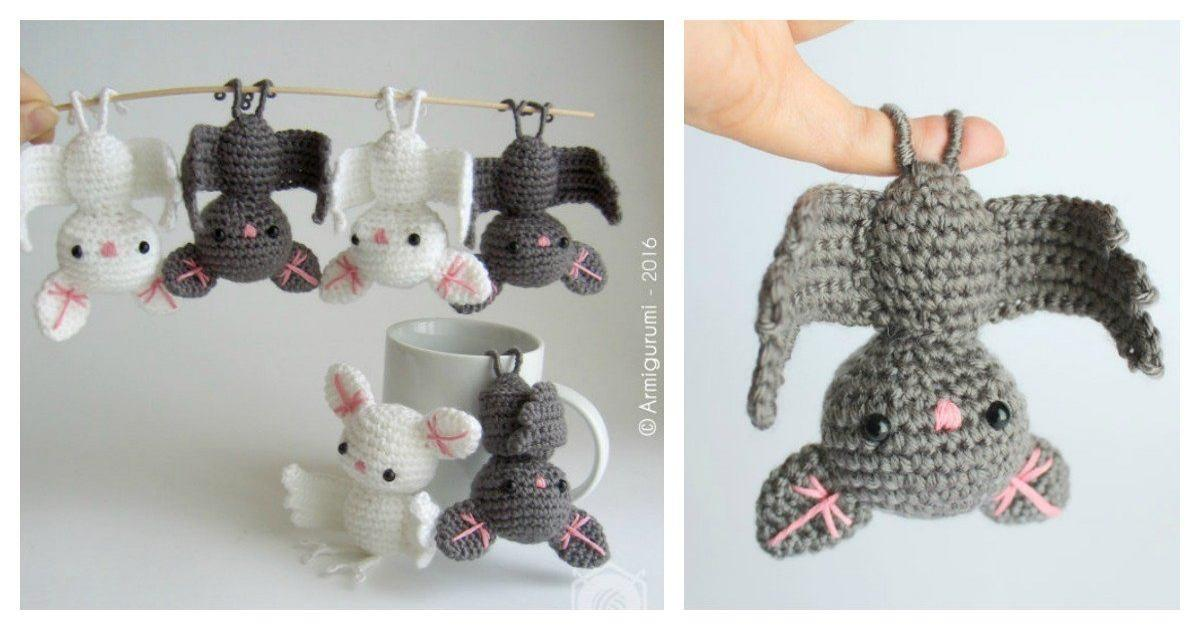 Diy Crochet Amigurumi Bat Usefuldiy