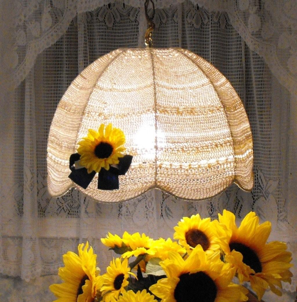 Diy Crochet Lampshade Recycle Project Hubpages
