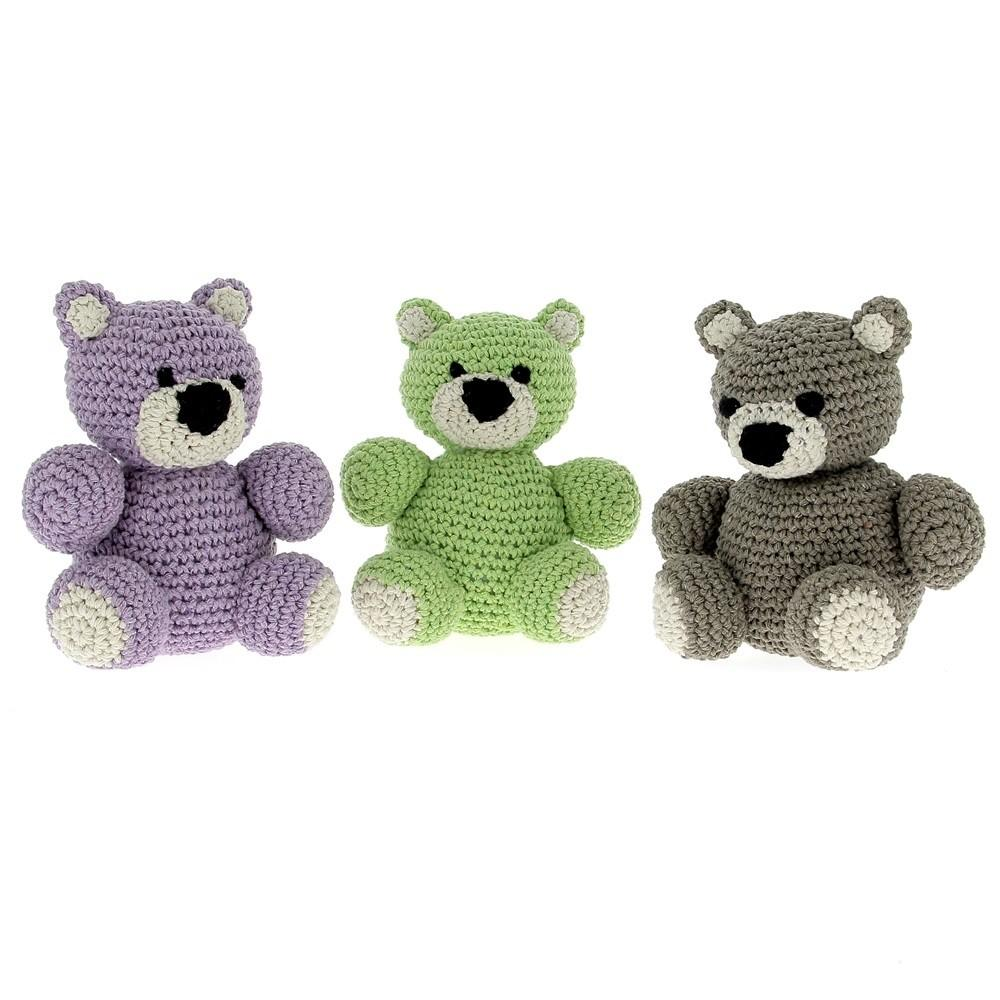 Diy Crochet Pattern Billie Bear Eco Barbante Hoooked