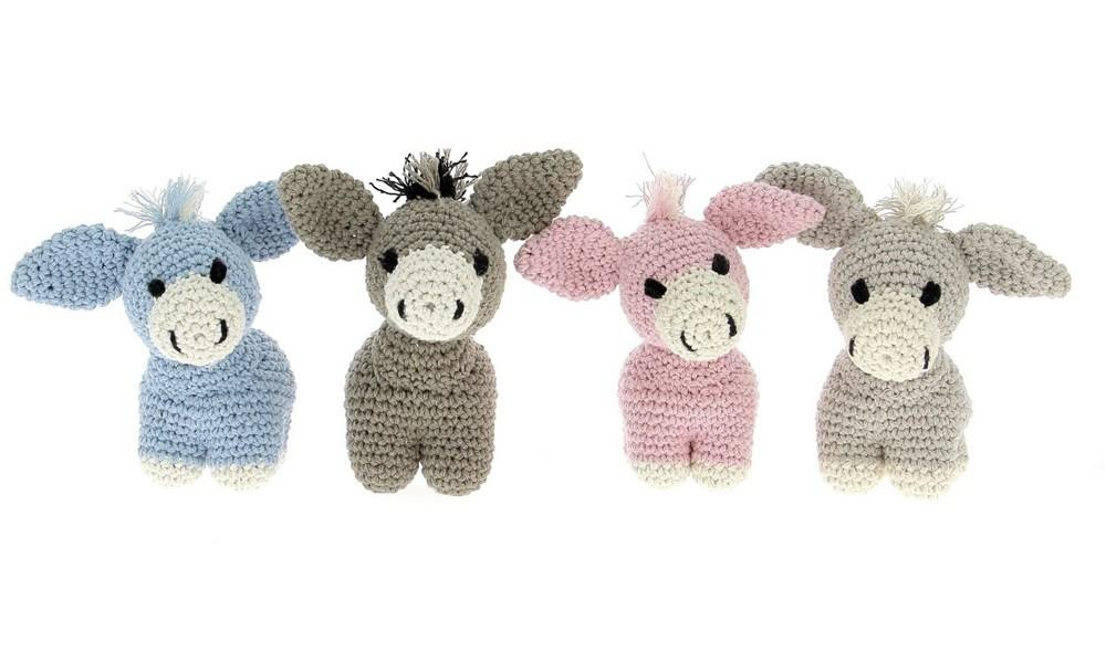 Diy Crochet Pattern Donkey Eco Barbante Hoooked