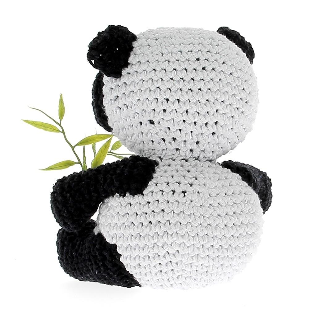 Diy Crochet Pattern Panda Yin Eco Barbante Hoooked