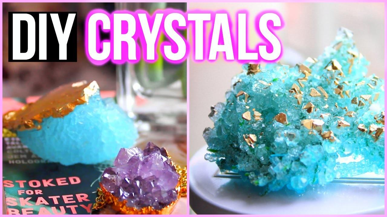 Diy Crystals Home Tumblr Inspired Room Decor
