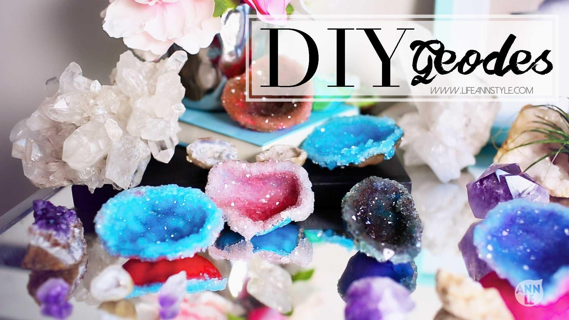 Diy Crystals Polymer Clay Home Decor Ann