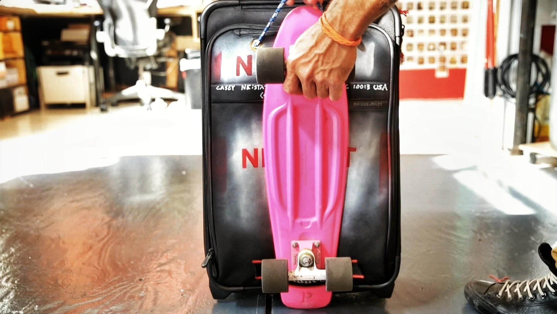 Diy Custom Pennyboard Suitcase