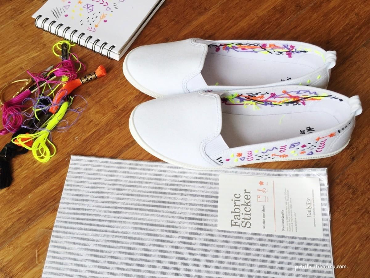 Diy Custom Summer Shoes Embroidery Petit Bout Chou