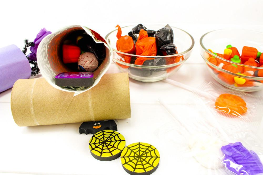 Diy Cute Halloween Candy Poppers Brite Bubbly