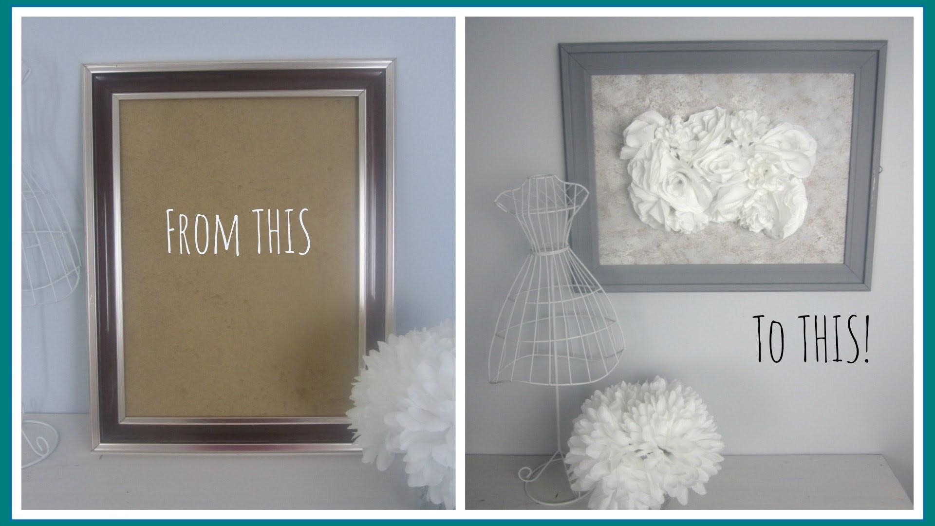 Diy Decor Outdated Frame Vintage Inspired Art