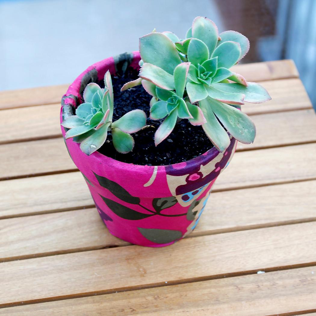 Diy Decorated Terracotta Pot