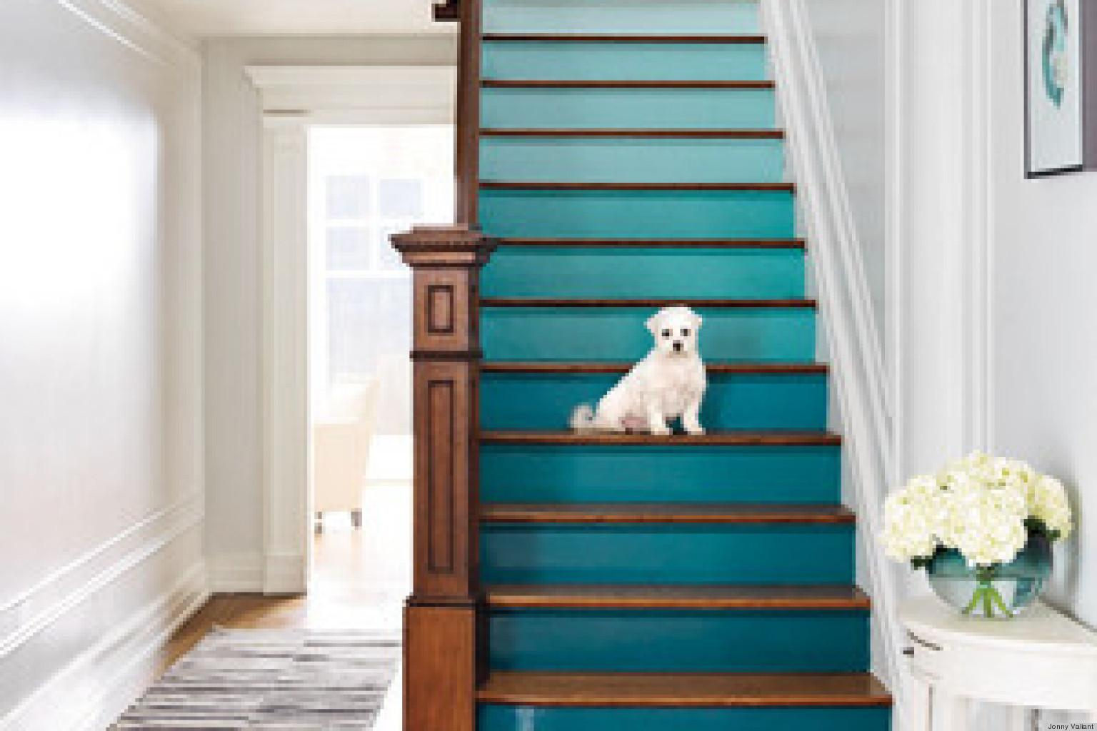 Diy Decorating Ideas Staircase Huffpost