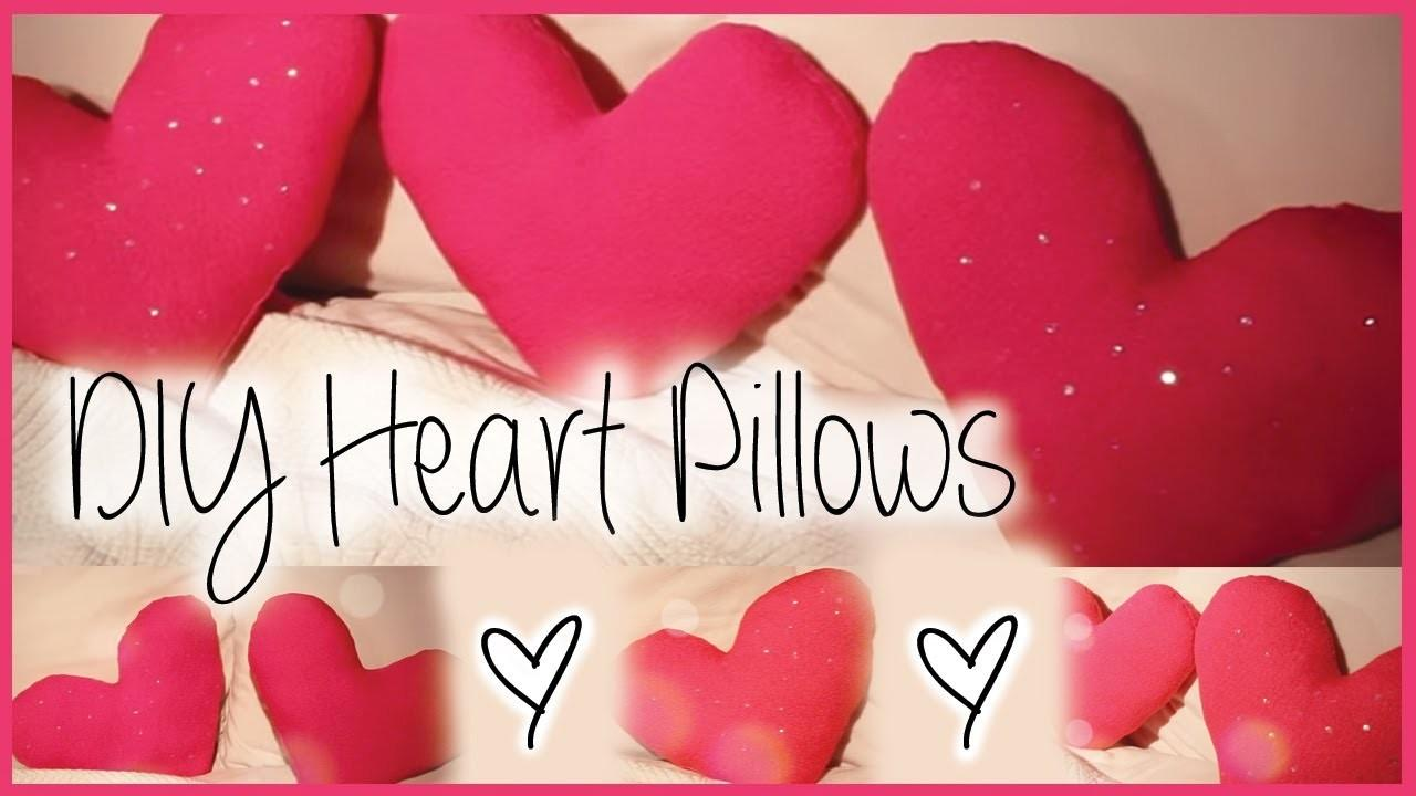 Diy Decorative Heart Pillows Affordable Cute Motto
