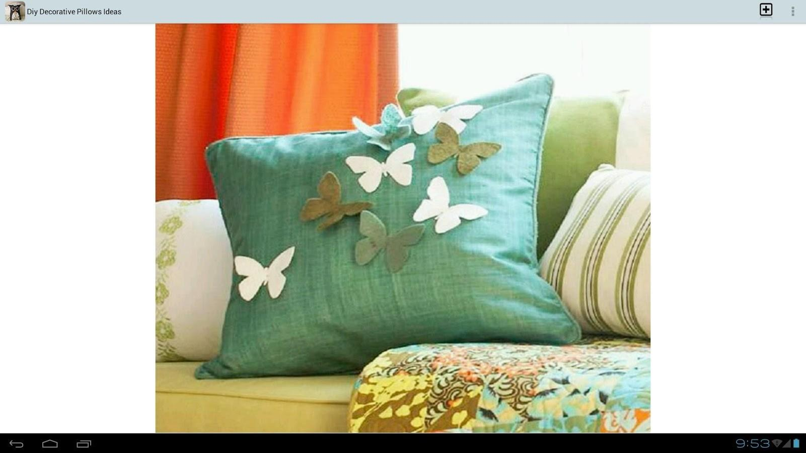 Diy Decorative Pillows Ideas Android Apps Play