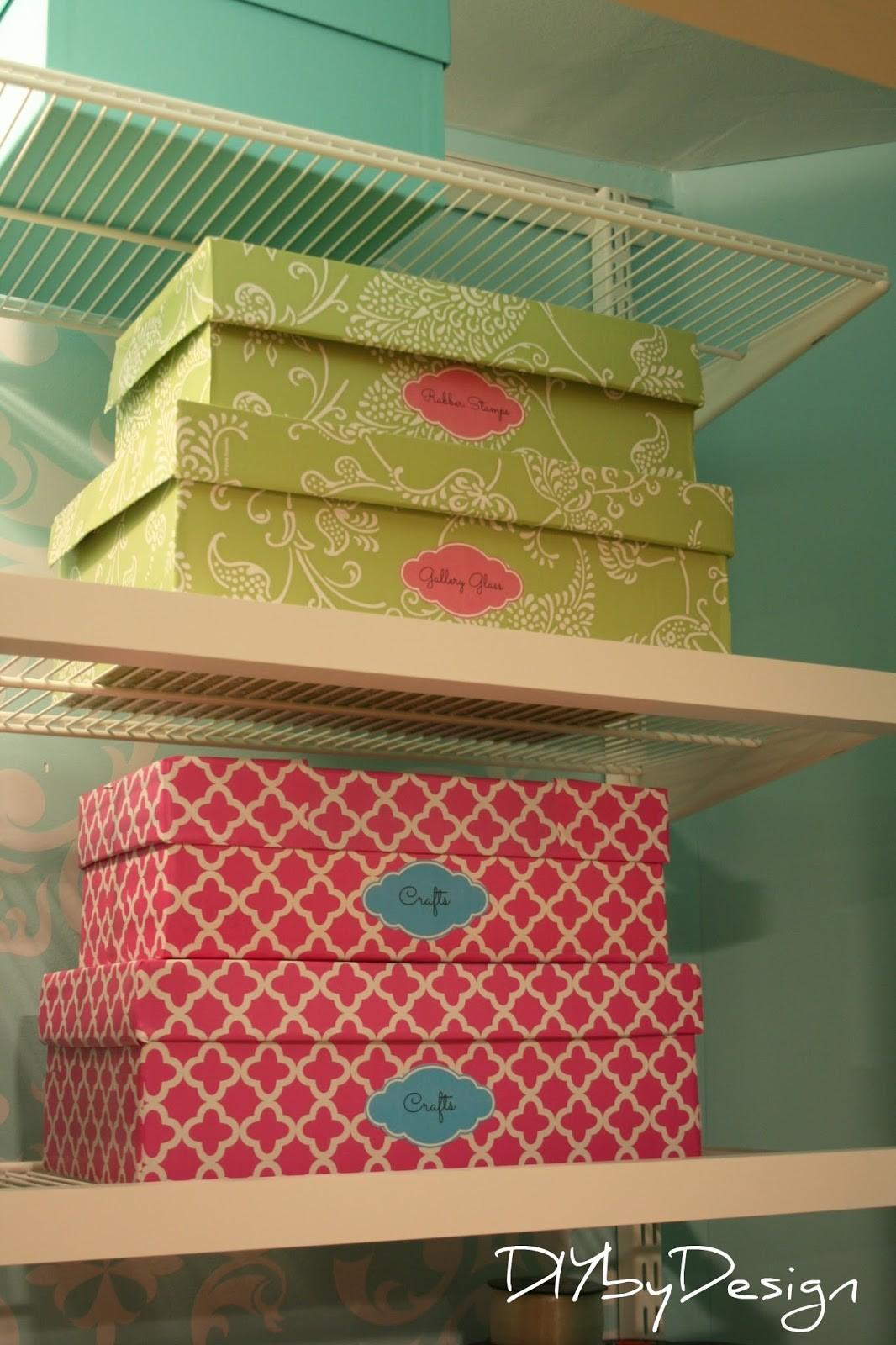 Diy Design Craft Closet Projects