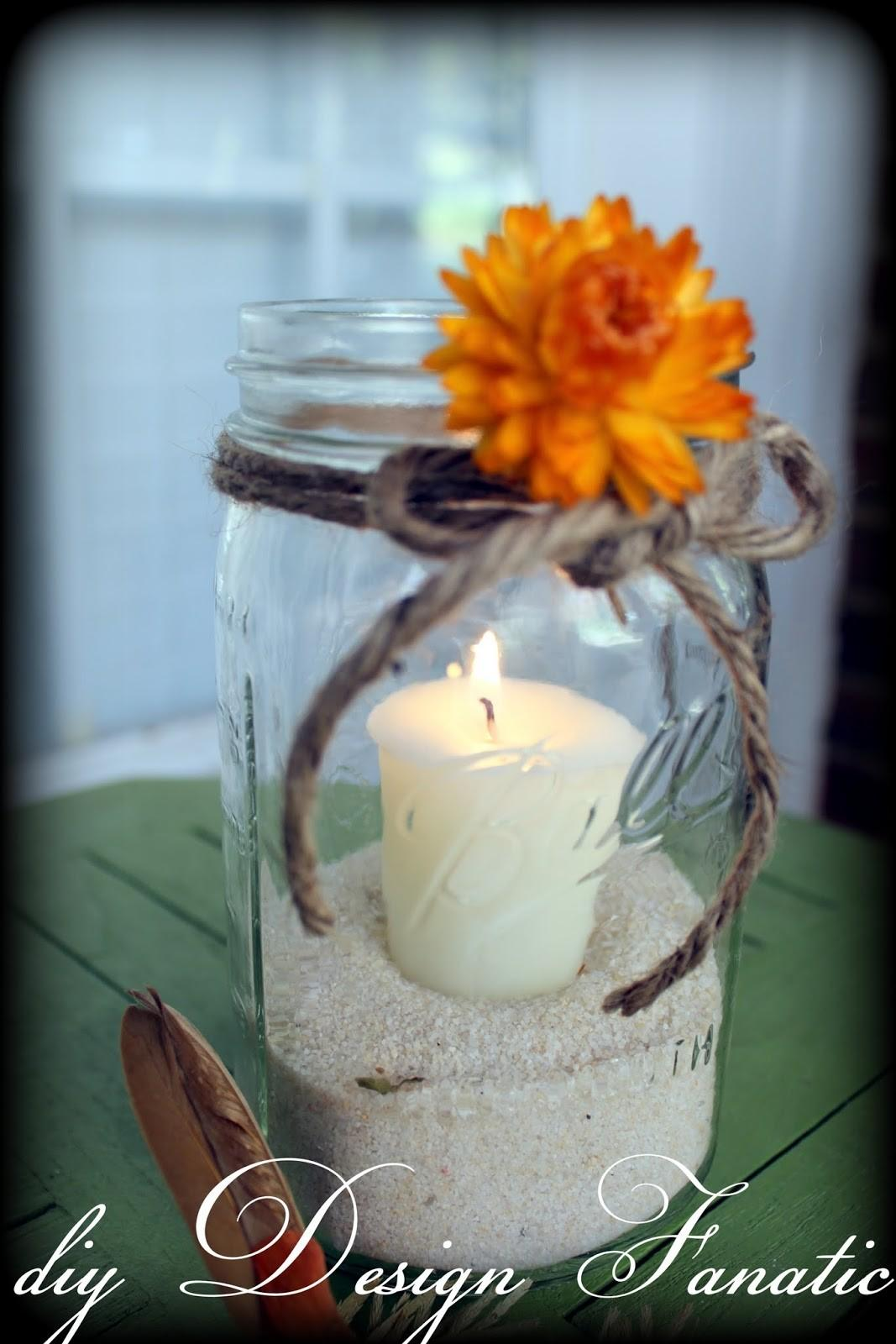 Diy Design Fanatic Super Simple Cost Mason Jar