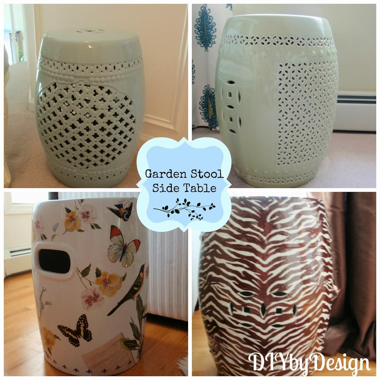 Diy Design Using Garden Stools Home Decor