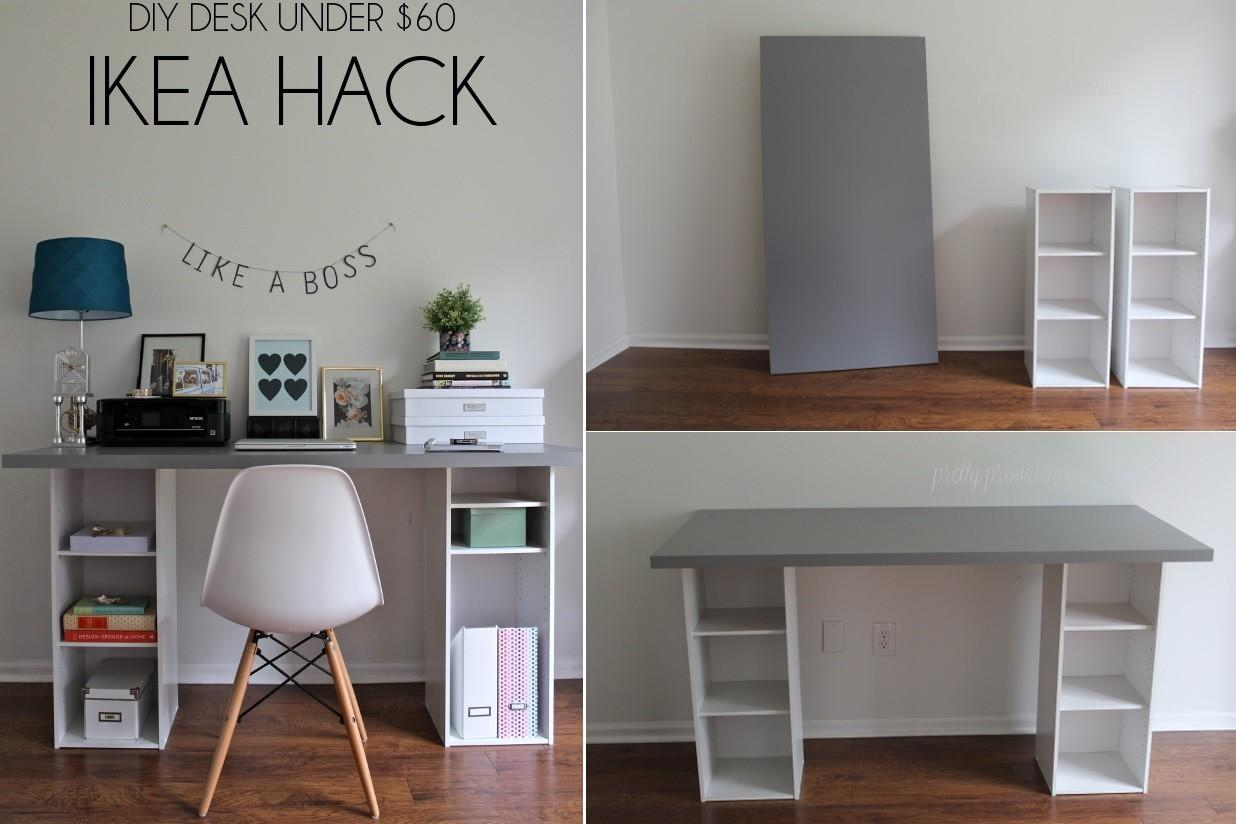 Diy Desk Designs Can Customize Suit Your Style