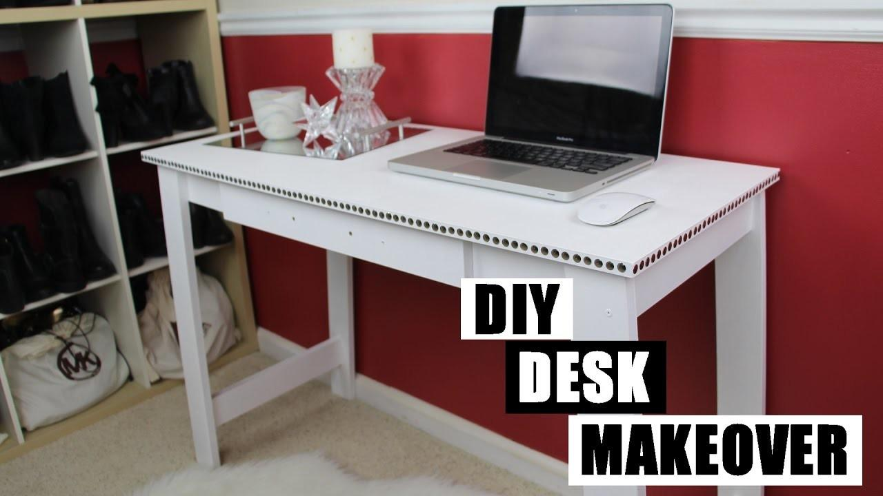 Diy Desk Makeover Paint Furniture Without Sanding