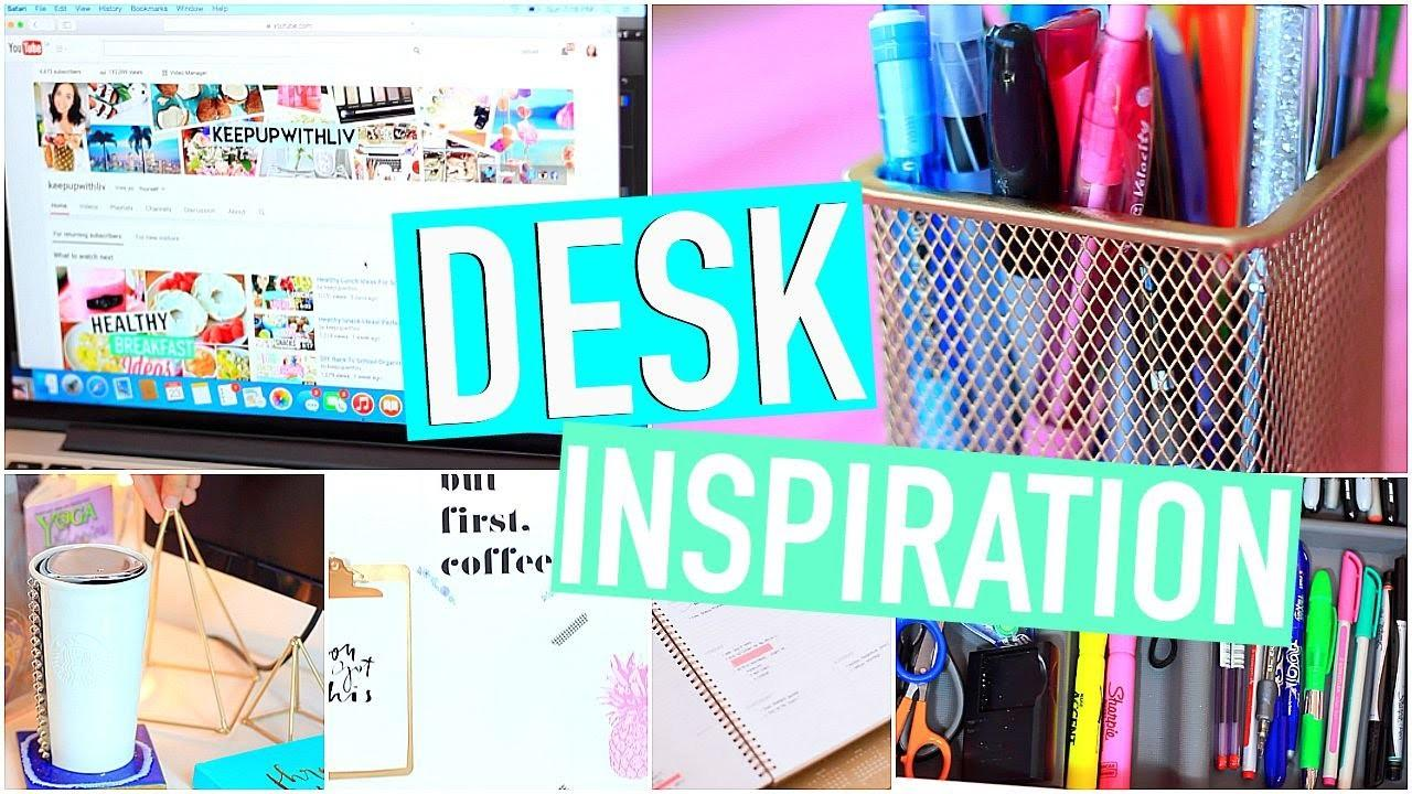 Diy Desk Organization Accessories Make Your Cute