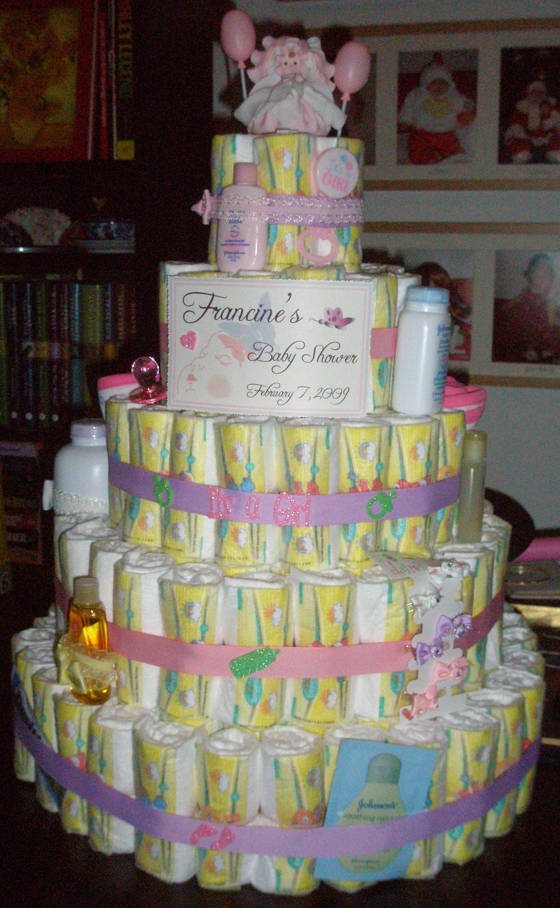 Diy Diaper Cakes Themercadoproject