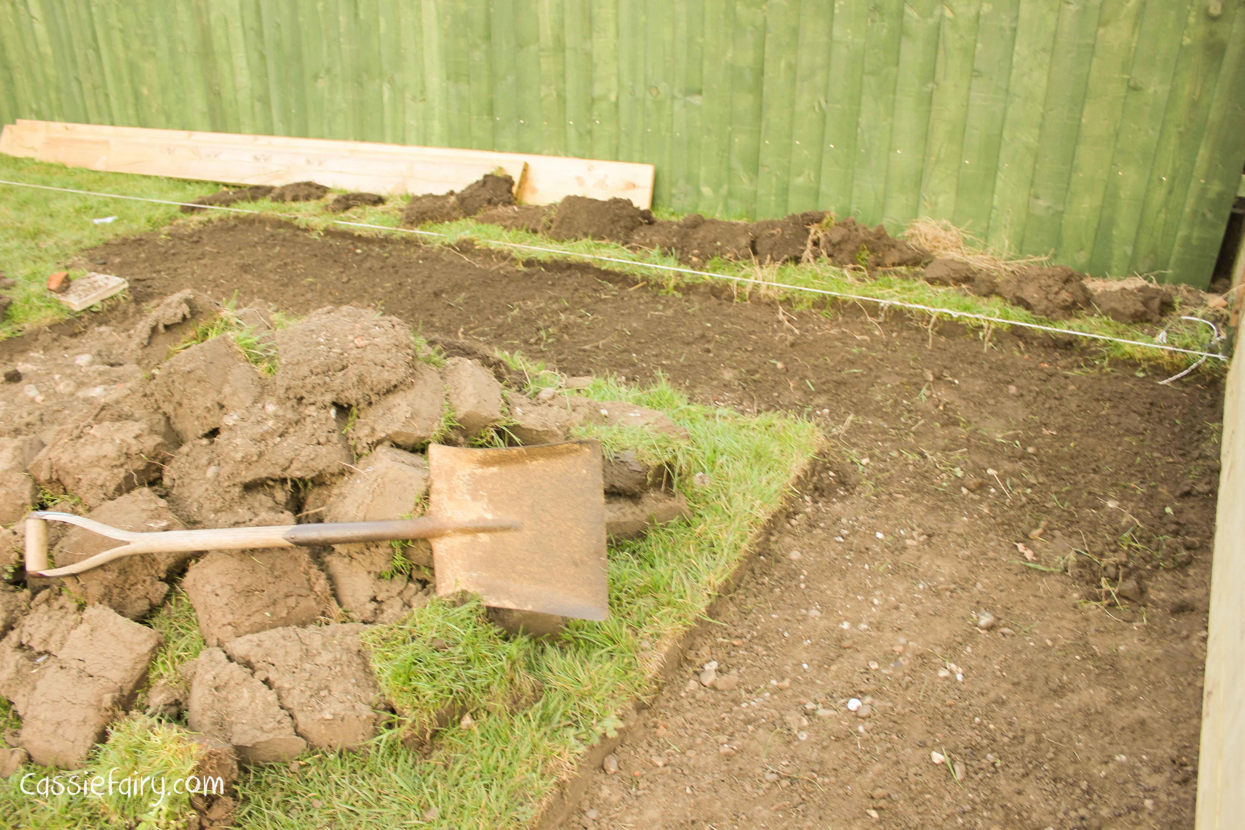 Diy Digging Out Garden Path