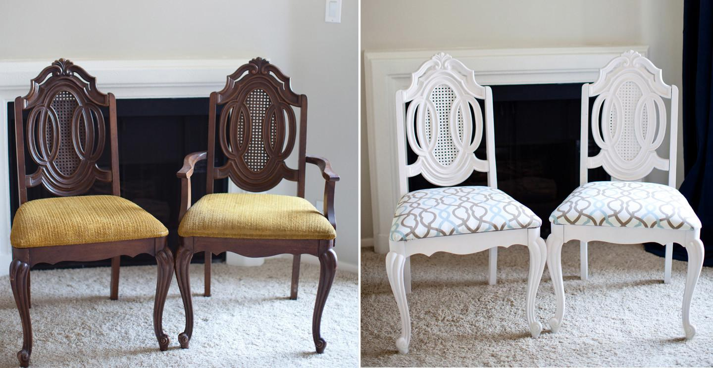 Diy Dining Chair Makeover Room Projects