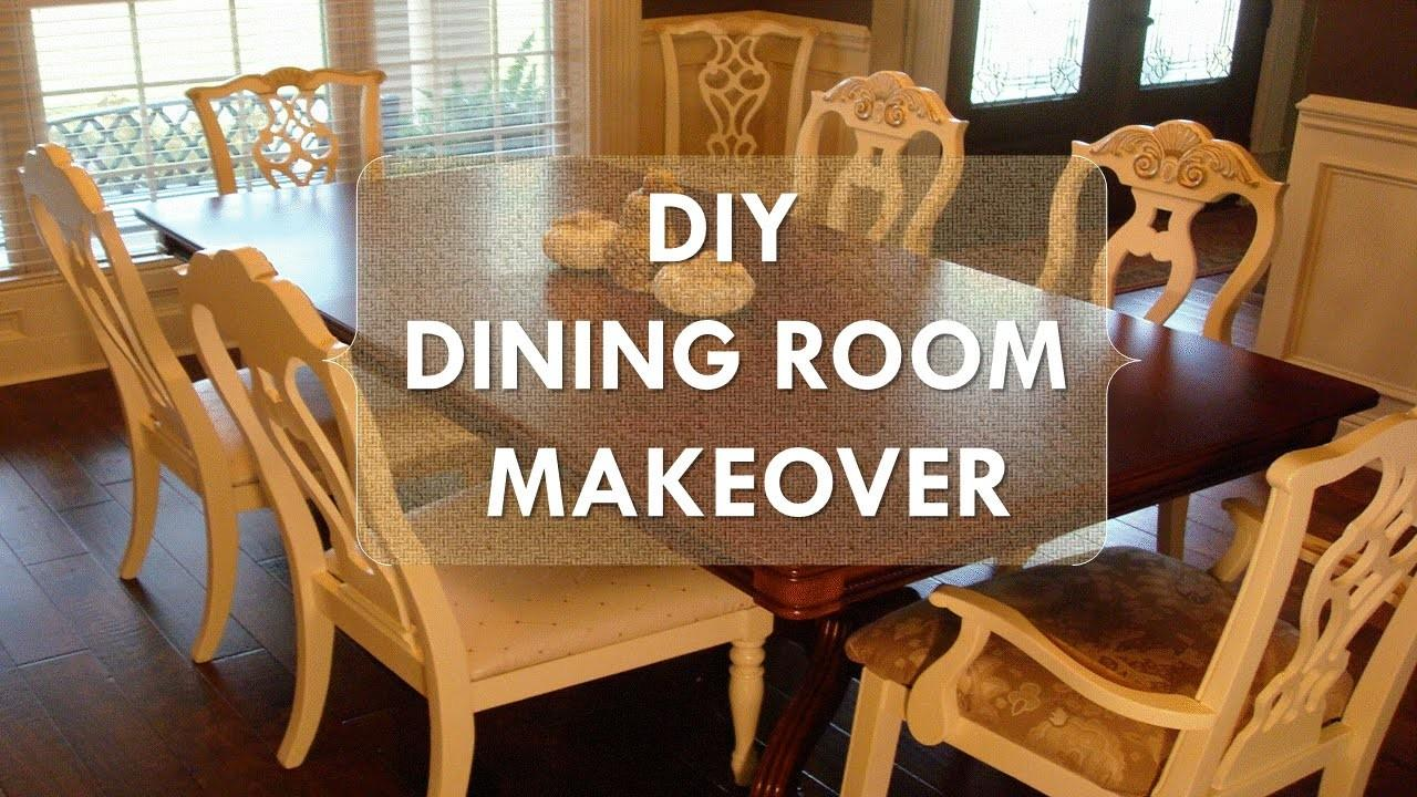 Diy Dining Room Makeover Just Chalk Paint Fabric