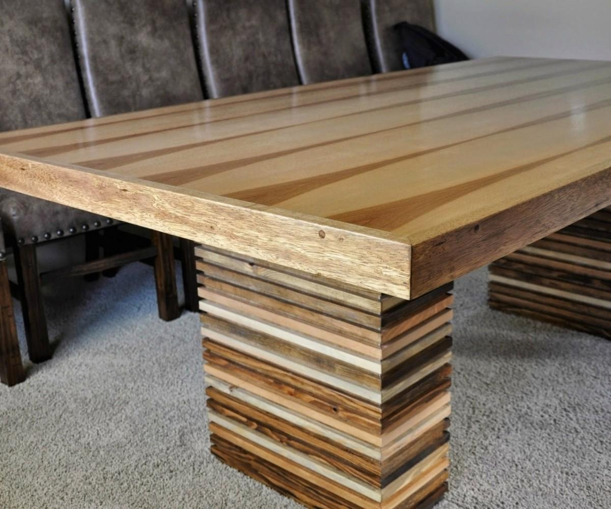 Diy Dining Table Plans Attractive Step Build