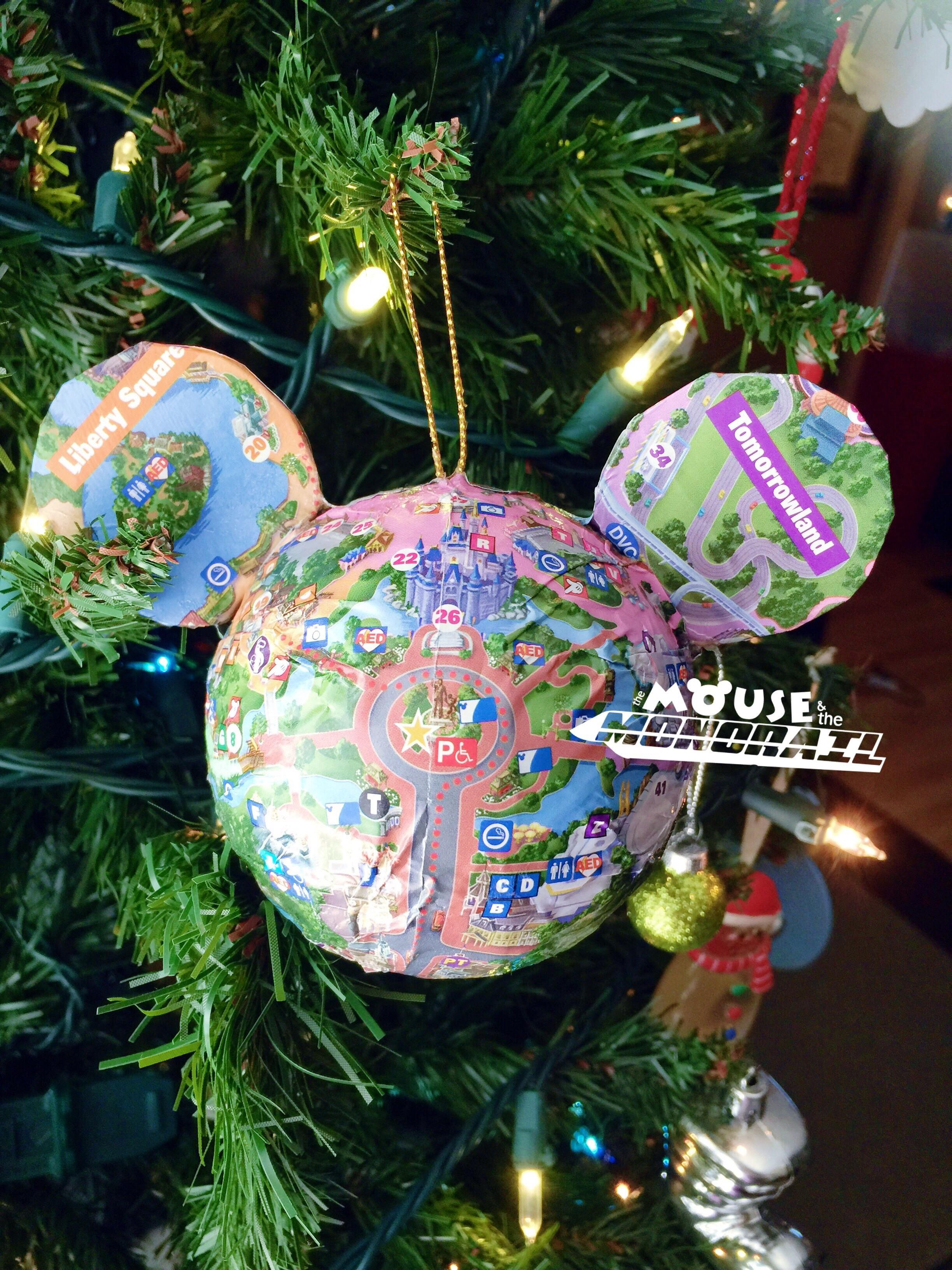 Diy Disney Ornament Ideas Mouse Monorail