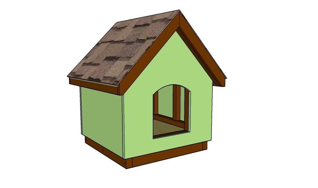 Diy Dog House Plans Outdoor Shed