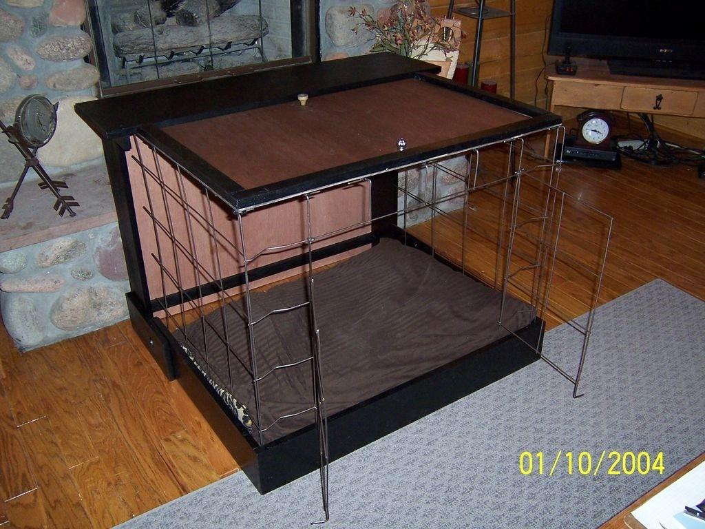 Diy Dog Murphy Bed Kennel Petdiys
