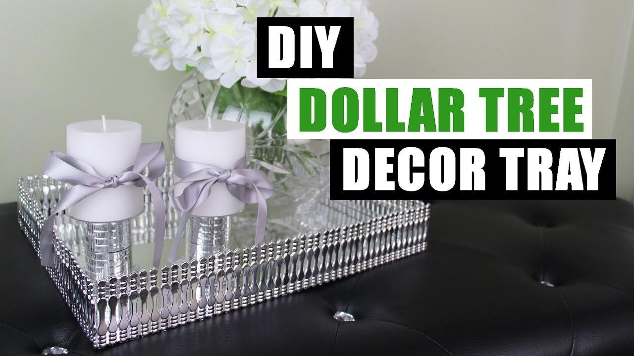 Diy Dollar Tree Decor Tray Store Mirror