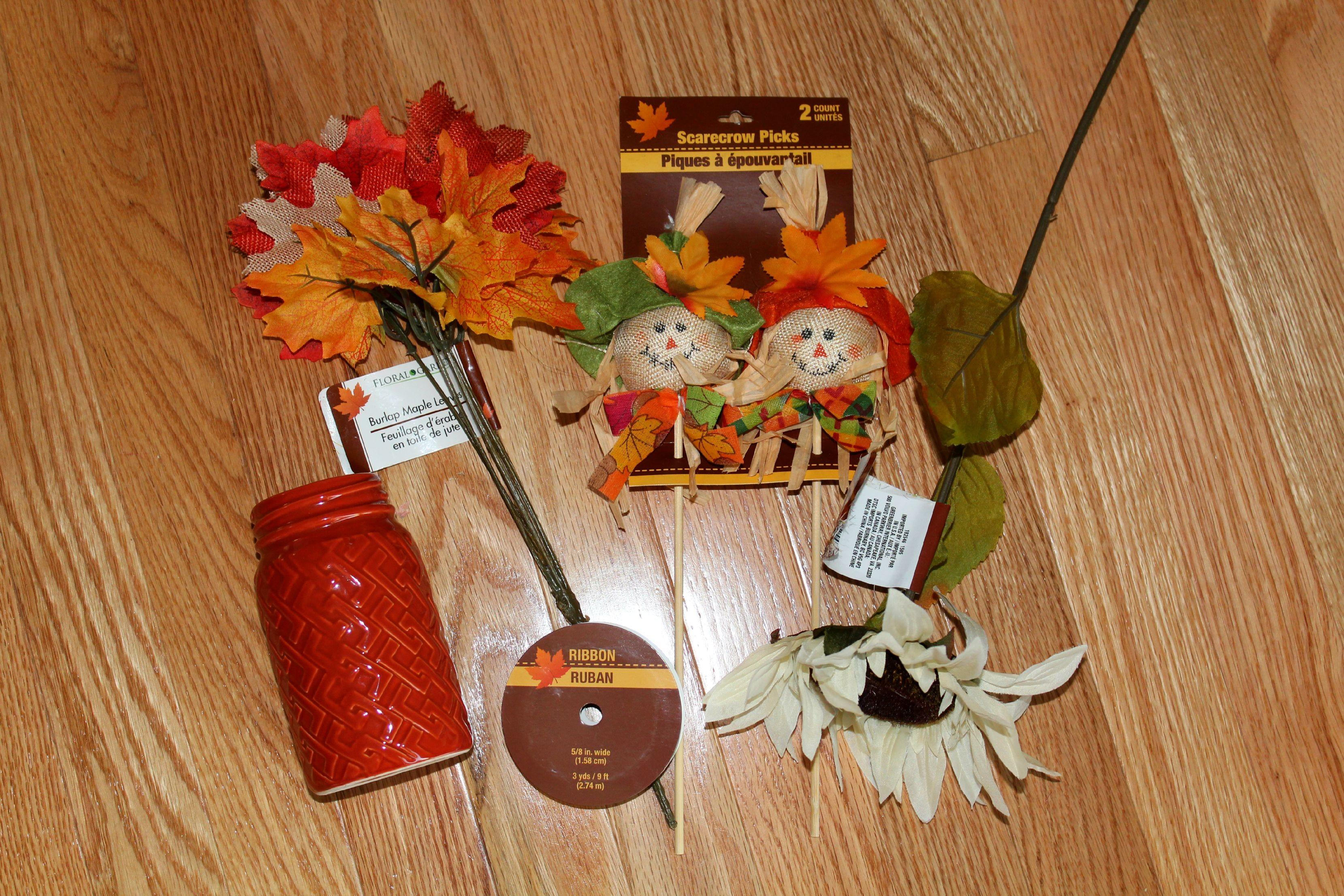Diy Dollar Tree Fall Craft Ellery Designs