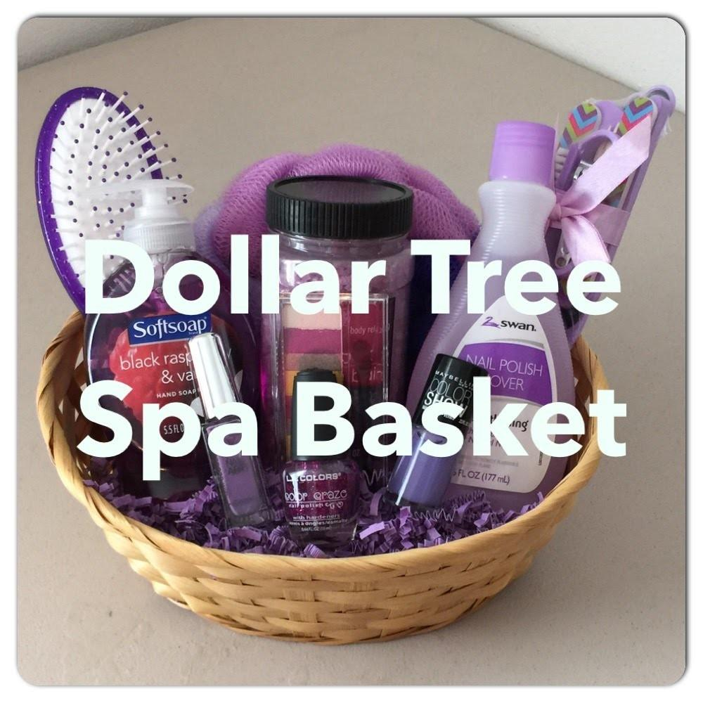 Diy Dollar Tree Spa Gift Basket Mother Day