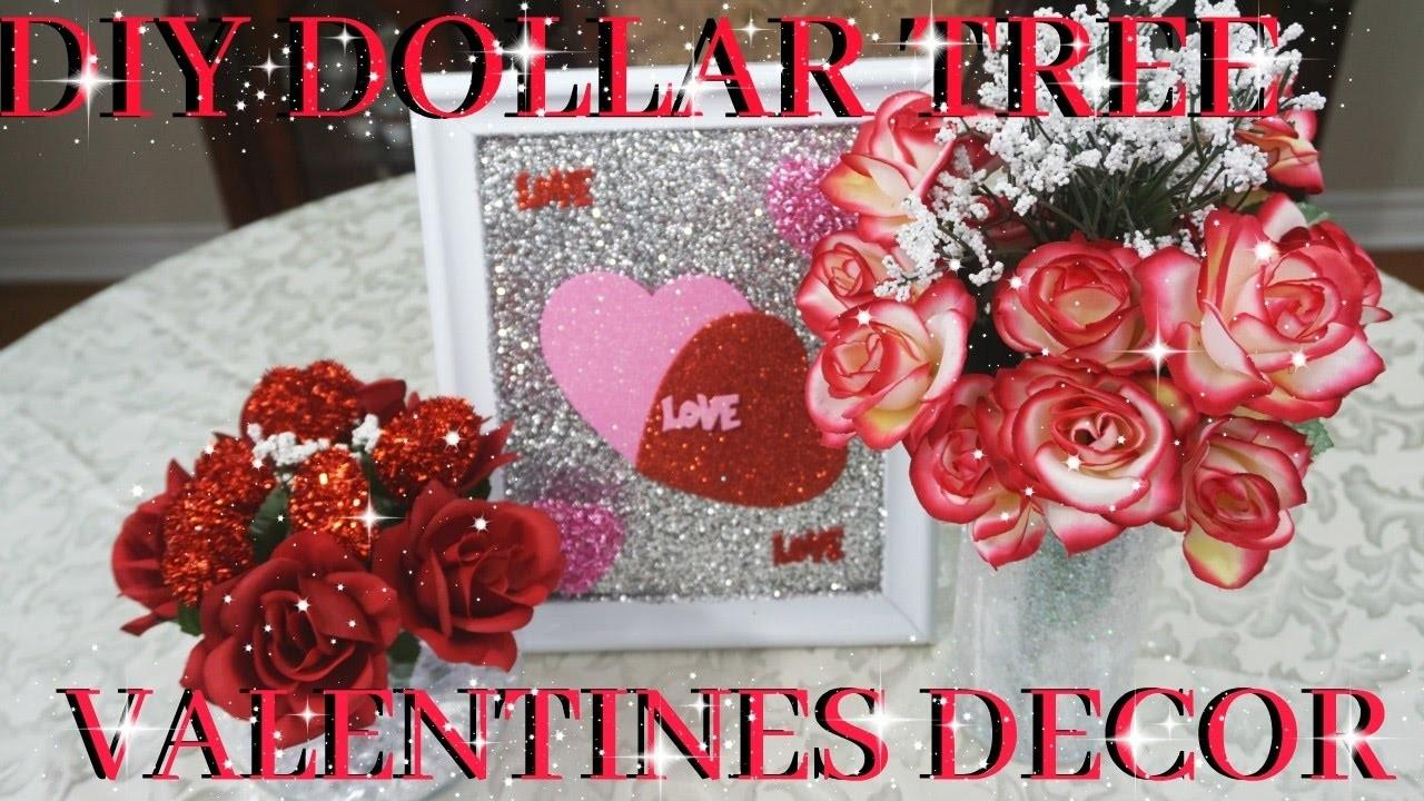 Diy Dollar Tree Valentines Decor 2017 Petalisbless