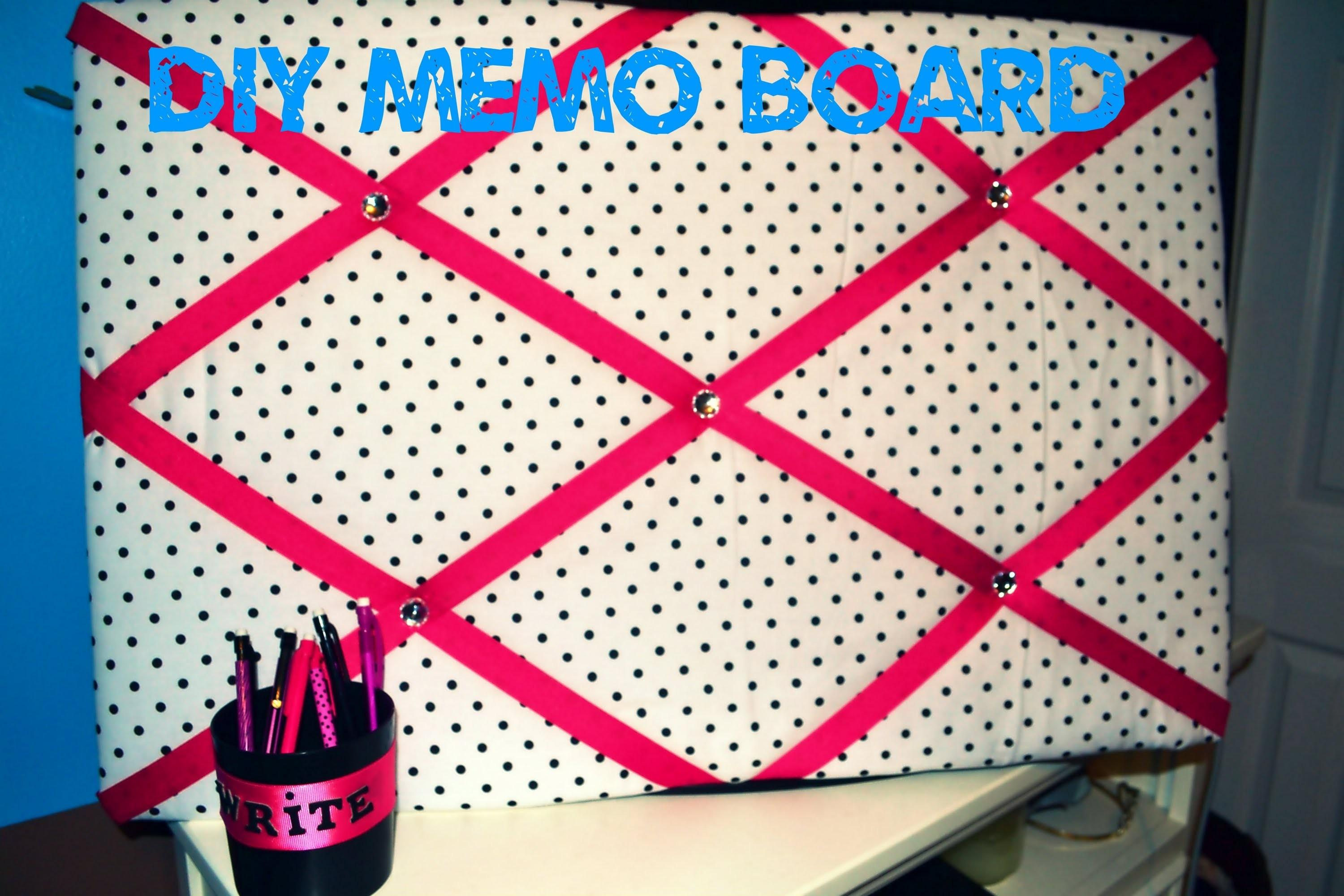 Diy Dorm Head Board Fabric Memo