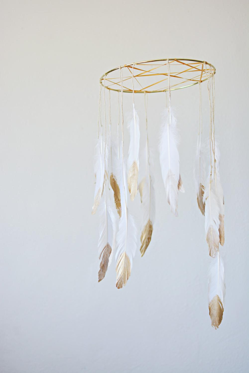 Diy Dream Catcher Mobile Honest Nod