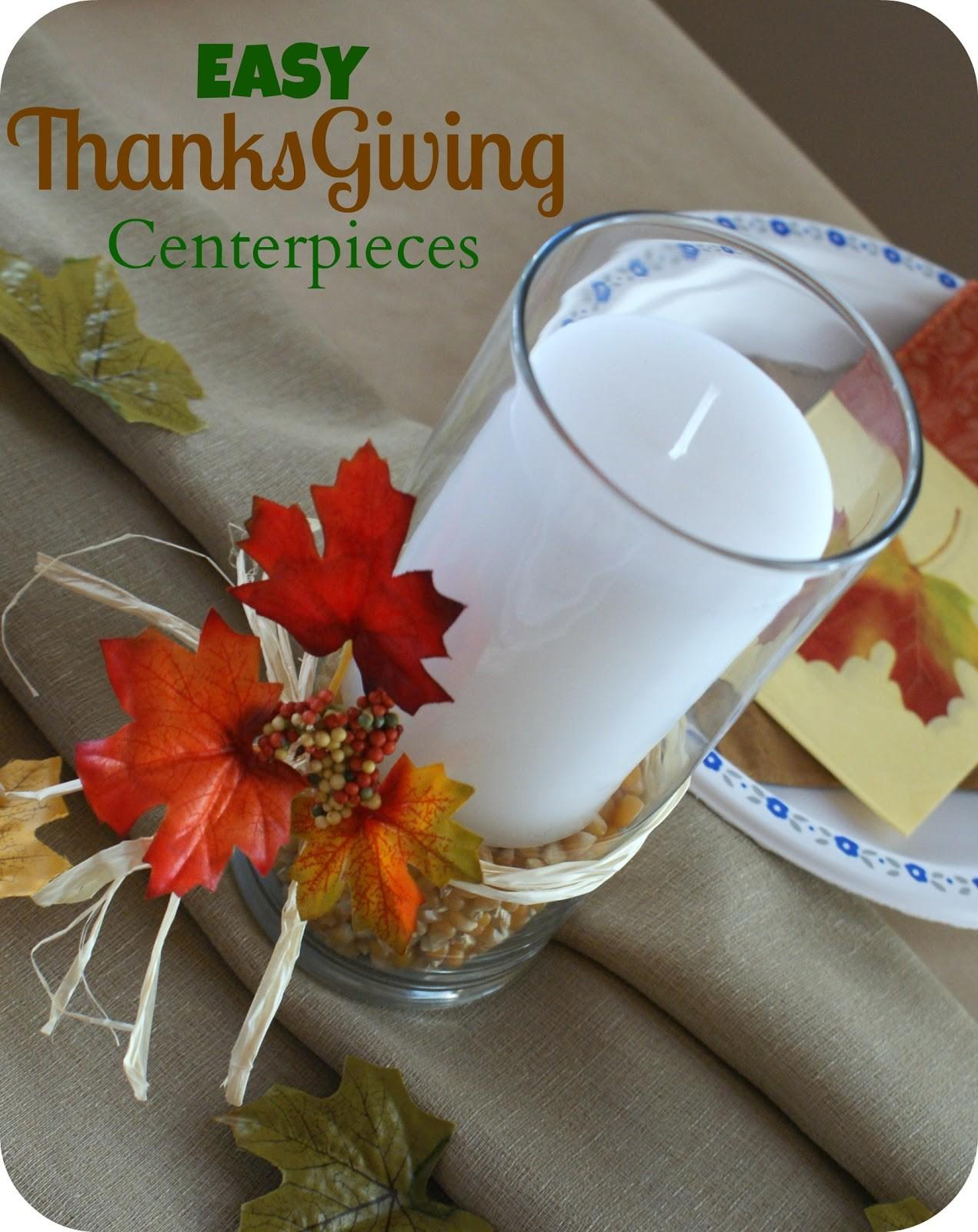 Diy Dress Your Thanksgiving Table