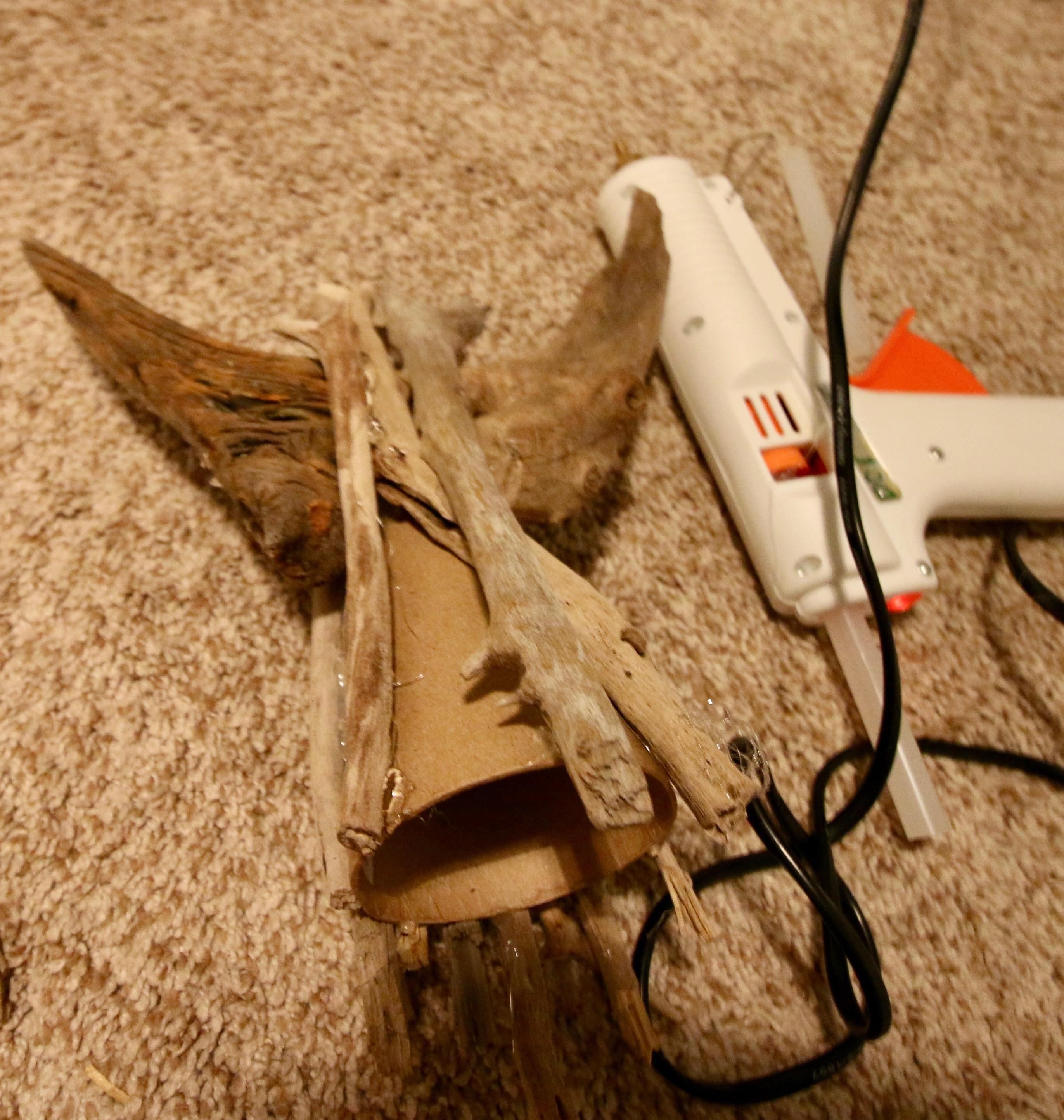 Diy Driftwood Angel Tree Topper Charleston Crafted