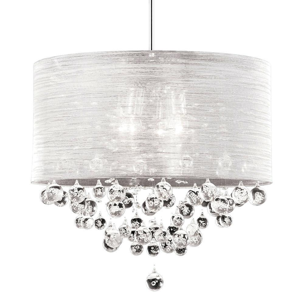 Diy Drum Shade Chandelier Crystals Latest Low