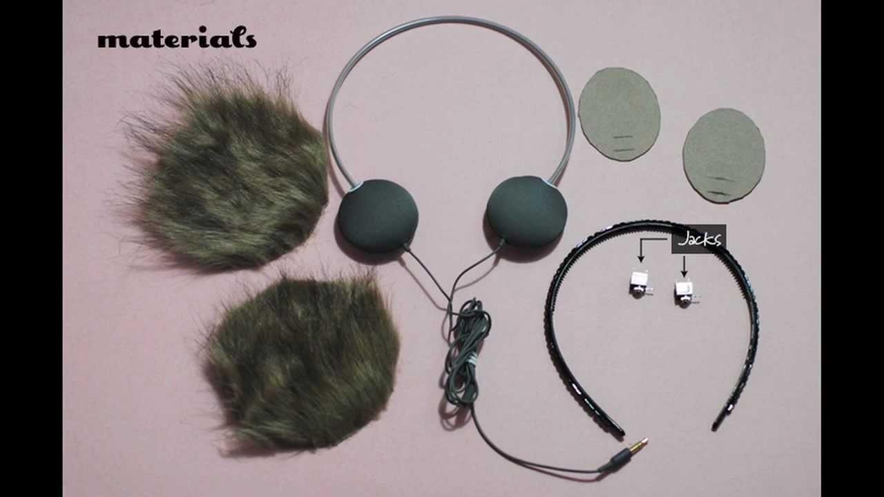 Diy Ear Muff Headphones Tutorial